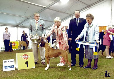 Champion Taratan Eye of the Tiger BIG Adelaide Royal 2005